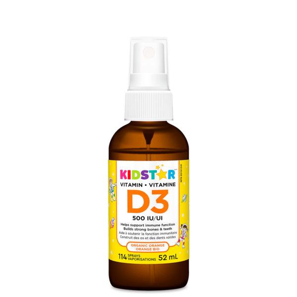 KidStar Vitamin D3 spray organic orange